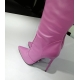 Giaro ZAZU dreamlike light pink thigh high boots