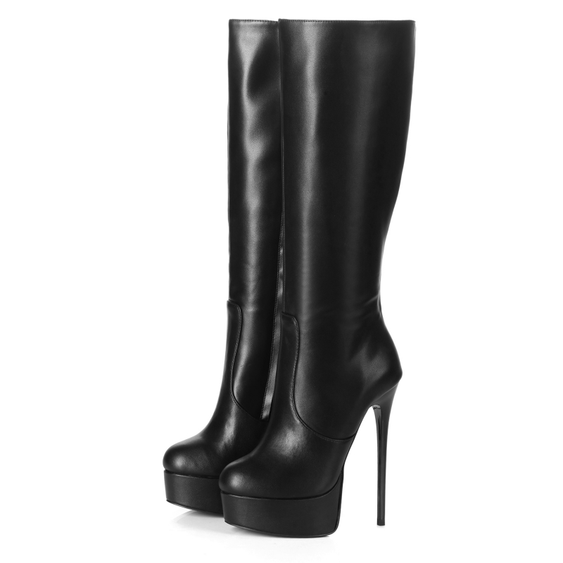 release date: cost charm exclusive shoes Giaro GALANA classy and fabulous black platform boots