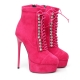 High heels lace-up ankle boots Giaro DAISIE