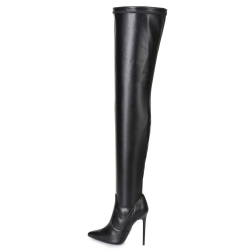 Ellie Tailor  (Giaro) DORO classic italian black thigh-high boots
