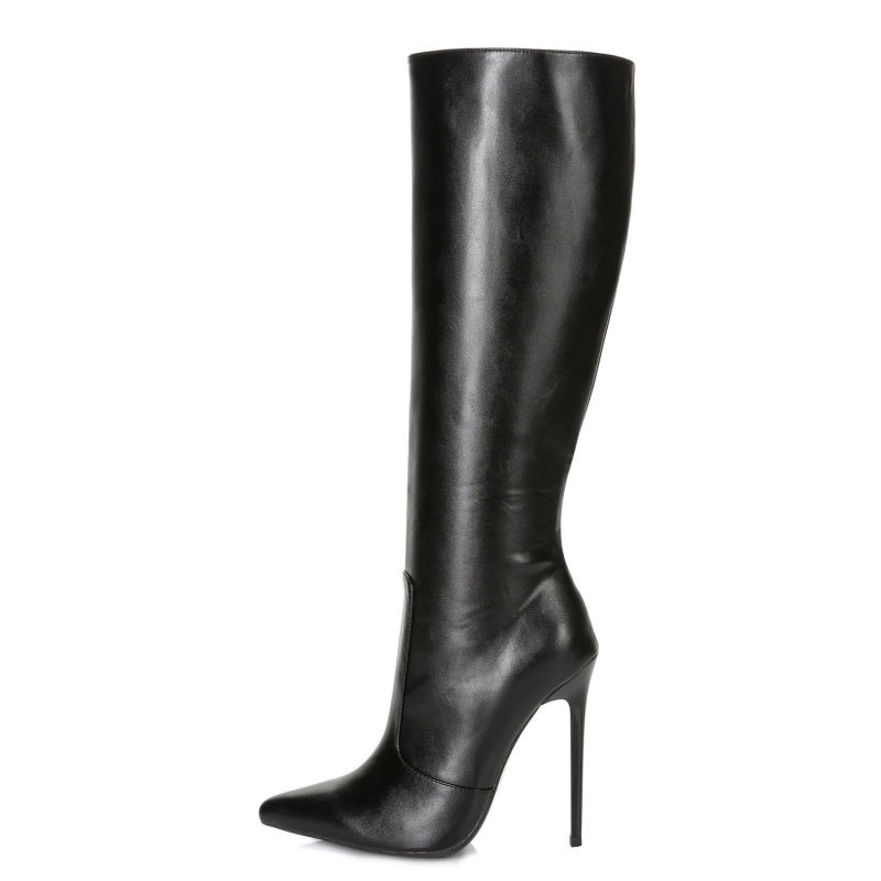 Ellie Tailor (Giaro) DIZZY black classic high heel boots