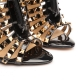 HONDURAS Gold Studded Ankle Boot