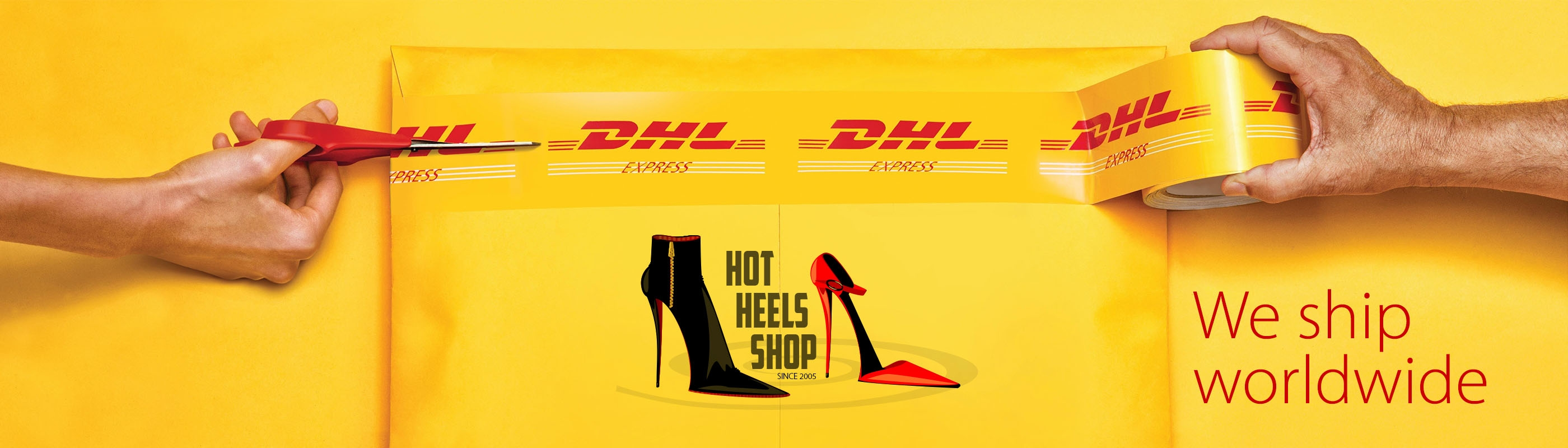 Hot Heels Shop shoes worldwide shipping