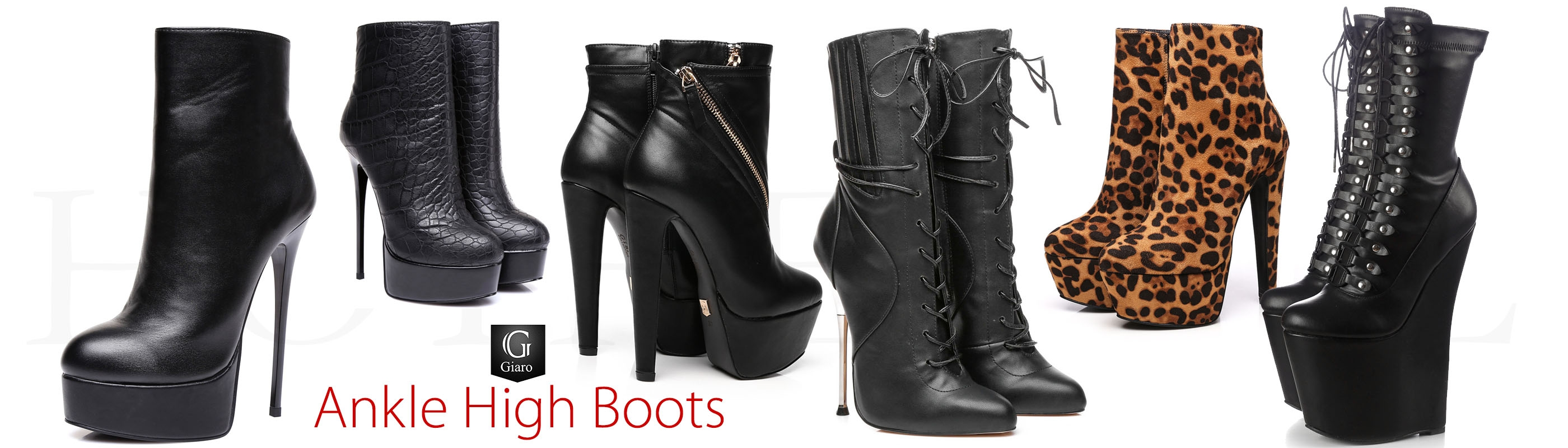 440fe18bd050 ... knee high boots  Giaro ankle high platform and wedge boots
